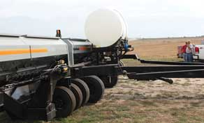 CrustBuster All Plant Drill with optional liquid fertilizer attachment