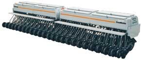 CrustBuster All Plant Drill with dry fertilizer attachment