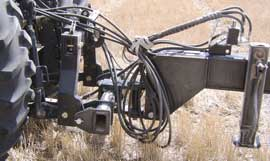 Optional 2-point hitch for 4700 drills