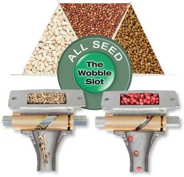 The best Single Seed Placement. Adjustable for varying size, weight and rate.